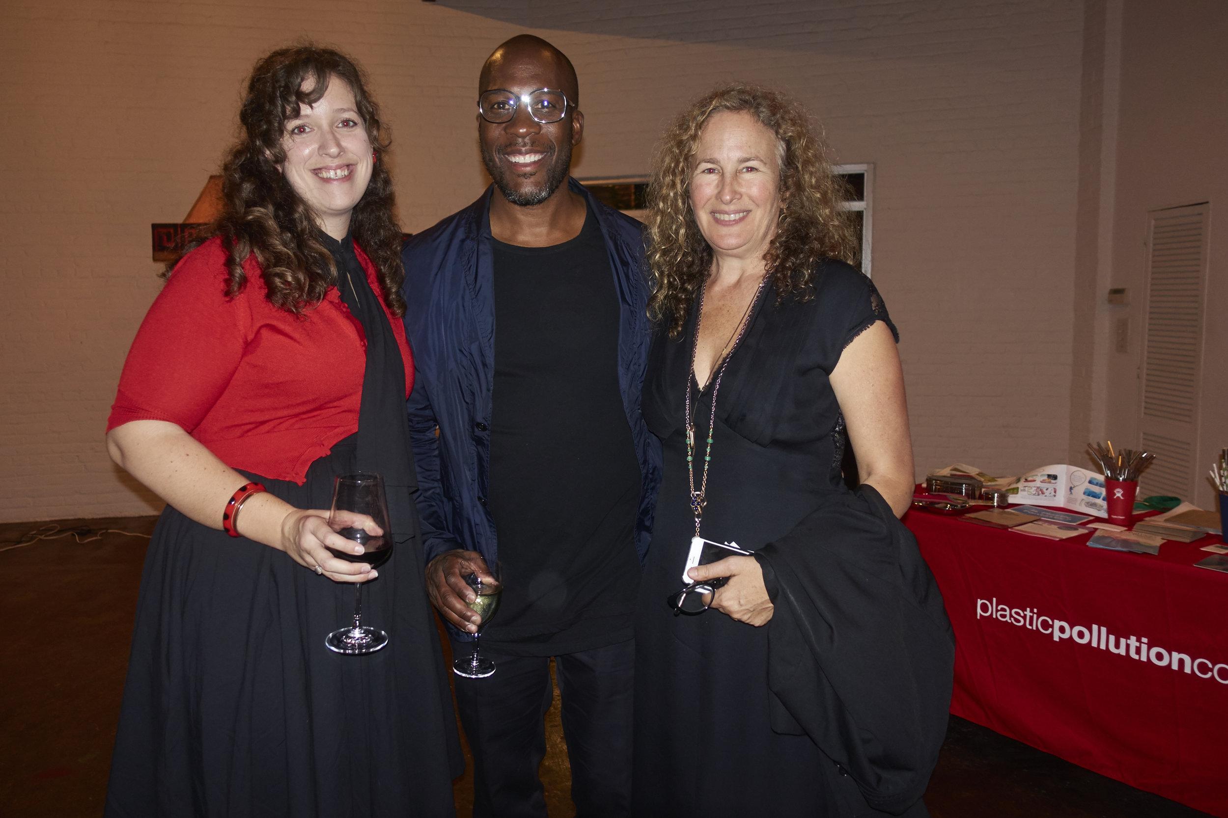 Jane Patton, Marquis Stillwell, and Dianna Cohen. Photo by  @lyndachurilla