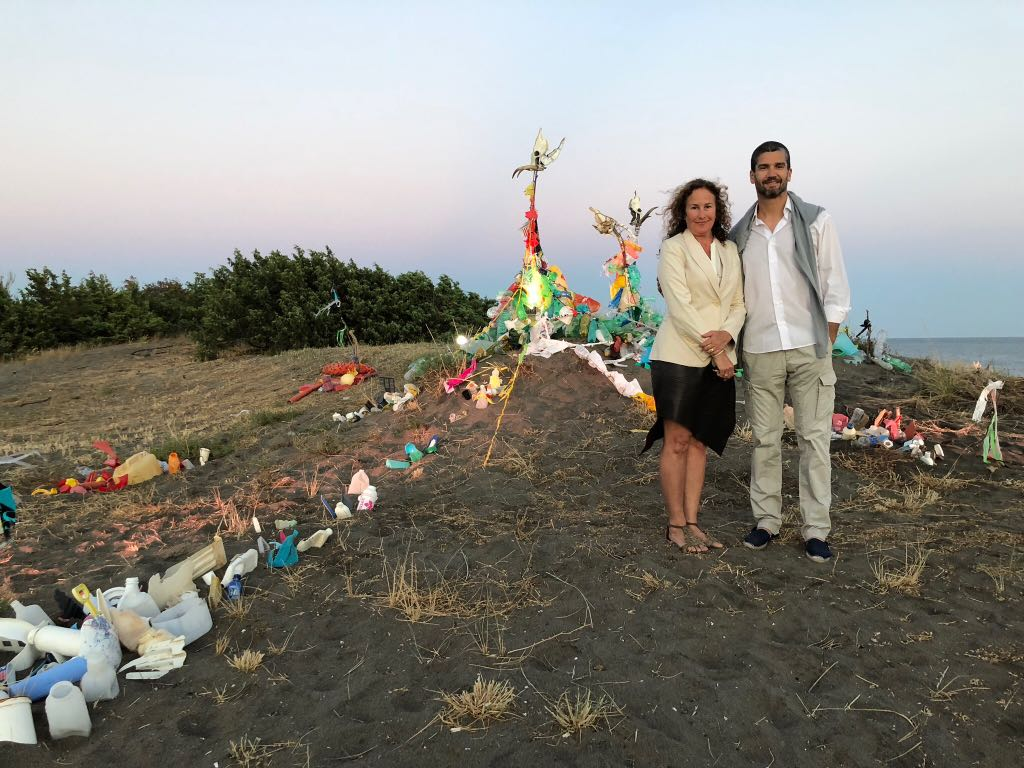 Dianna Cohen and Alvaro Soler Arpa