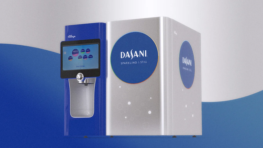 Dasani's new water vending machine is BYOB (bring your own bottle)     Fast Company   August 13, 2019