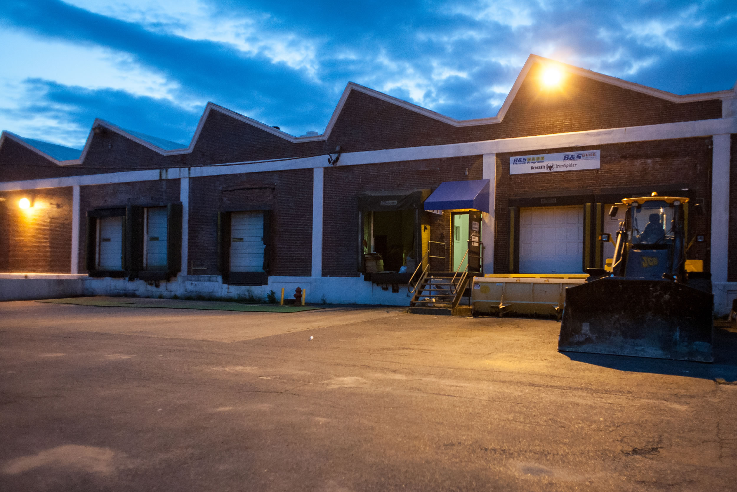 Front entrance of CrossFit IronSpider Salem