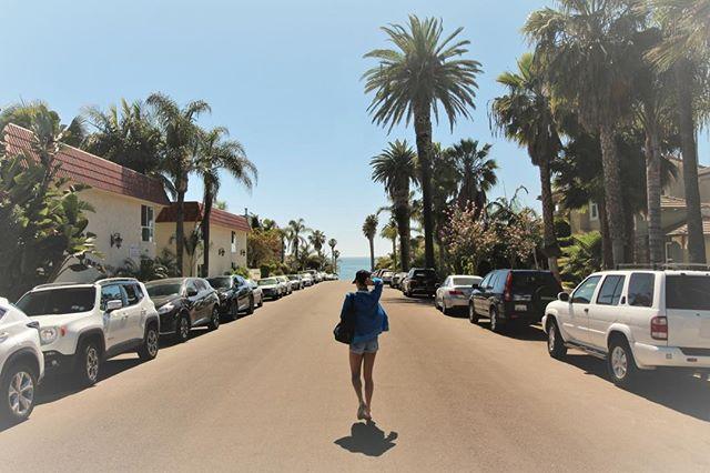 Headed to the beach!  #windansea #lajolla #surfing #sandiego