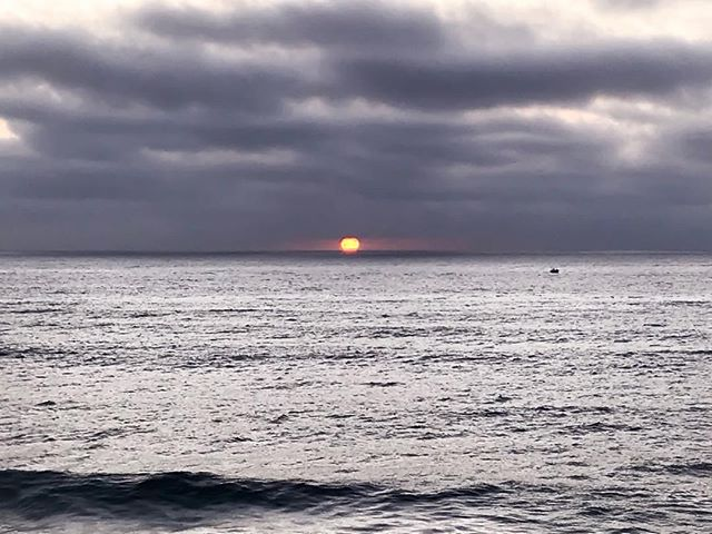 The evil eye... Happy October! #sunsets #sandiego #surfing