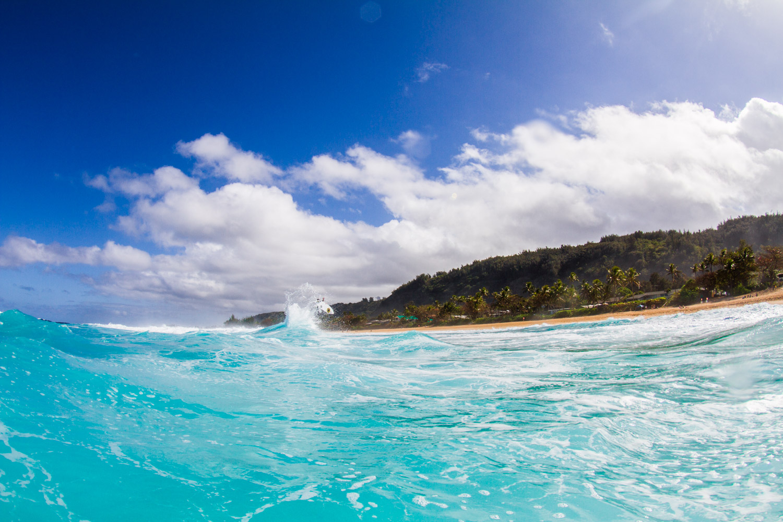Kai Mana Henry on the North Shore of Oahu