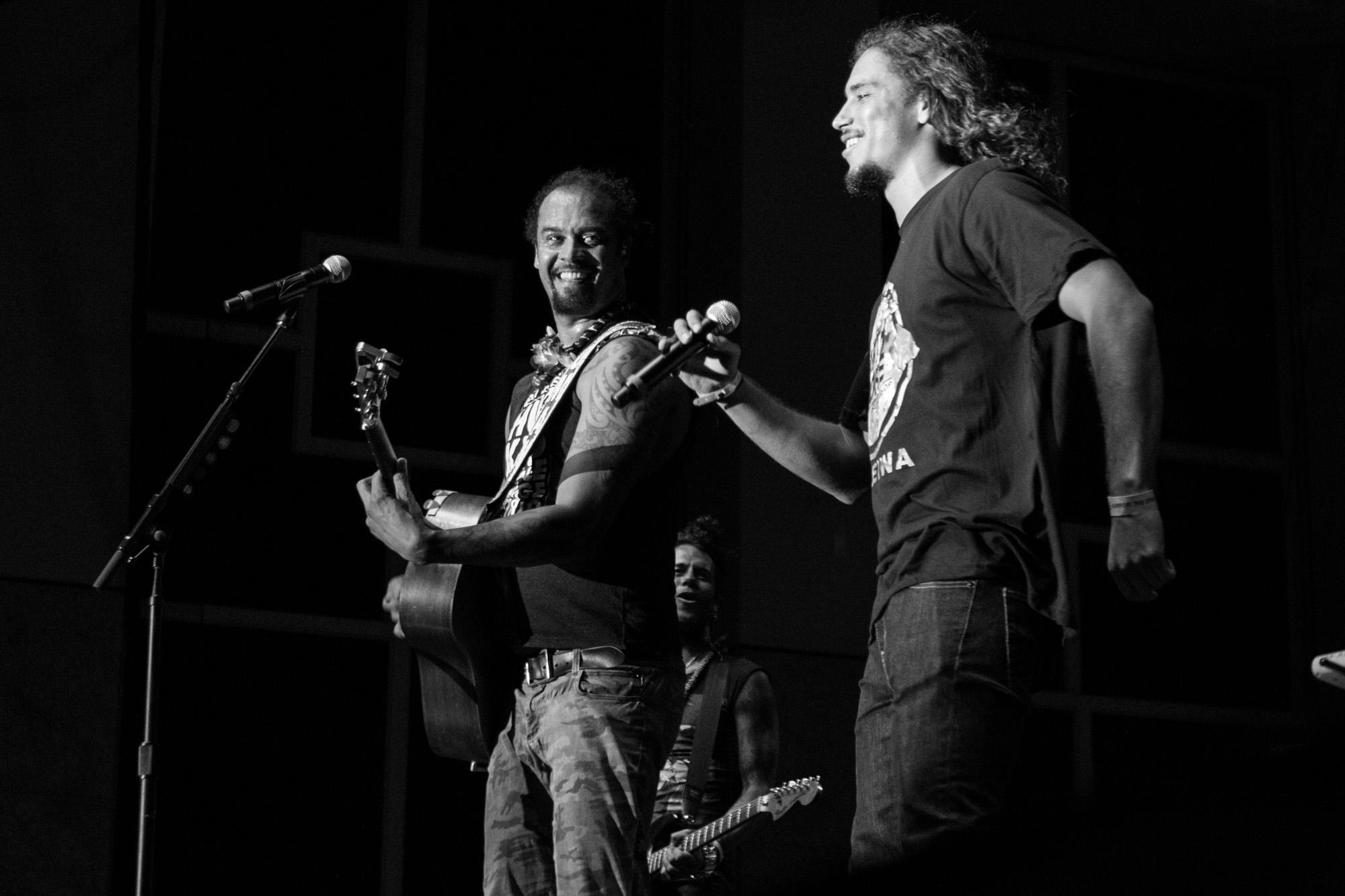 Michael Franti and Landon Mcnamara