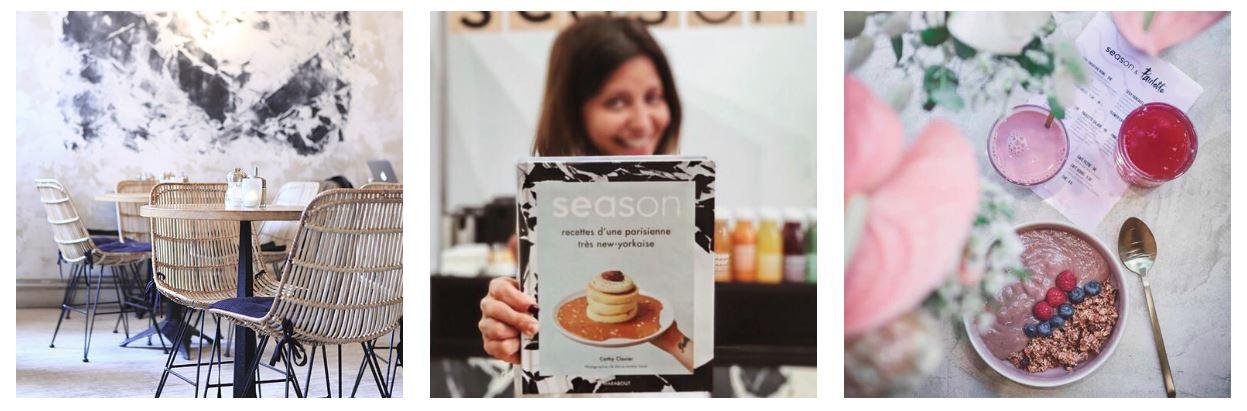 Cathy a également sorti un livre avec ses recettes. Crédit photo 1 et 3:  Catalyz'her  - Crédit photo 2:  Paulette