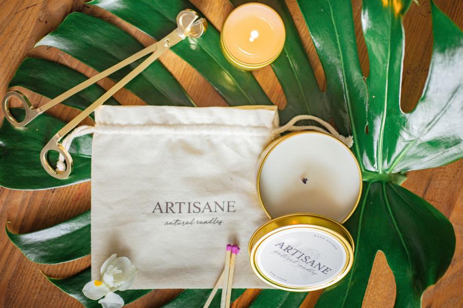 Artisane, des bougies en cire 100% naturelle