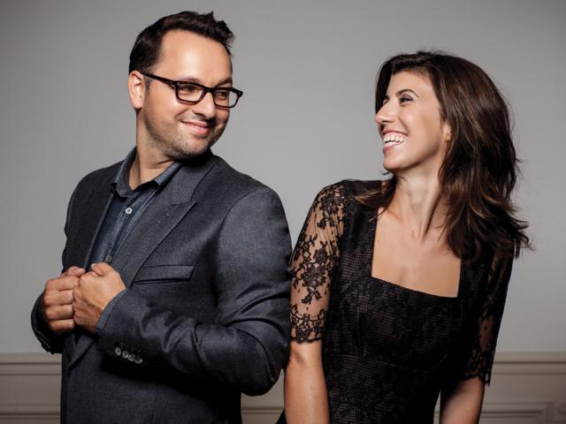 Sylvie et son mari Christophe, fondateurs d'Atelier Cologne