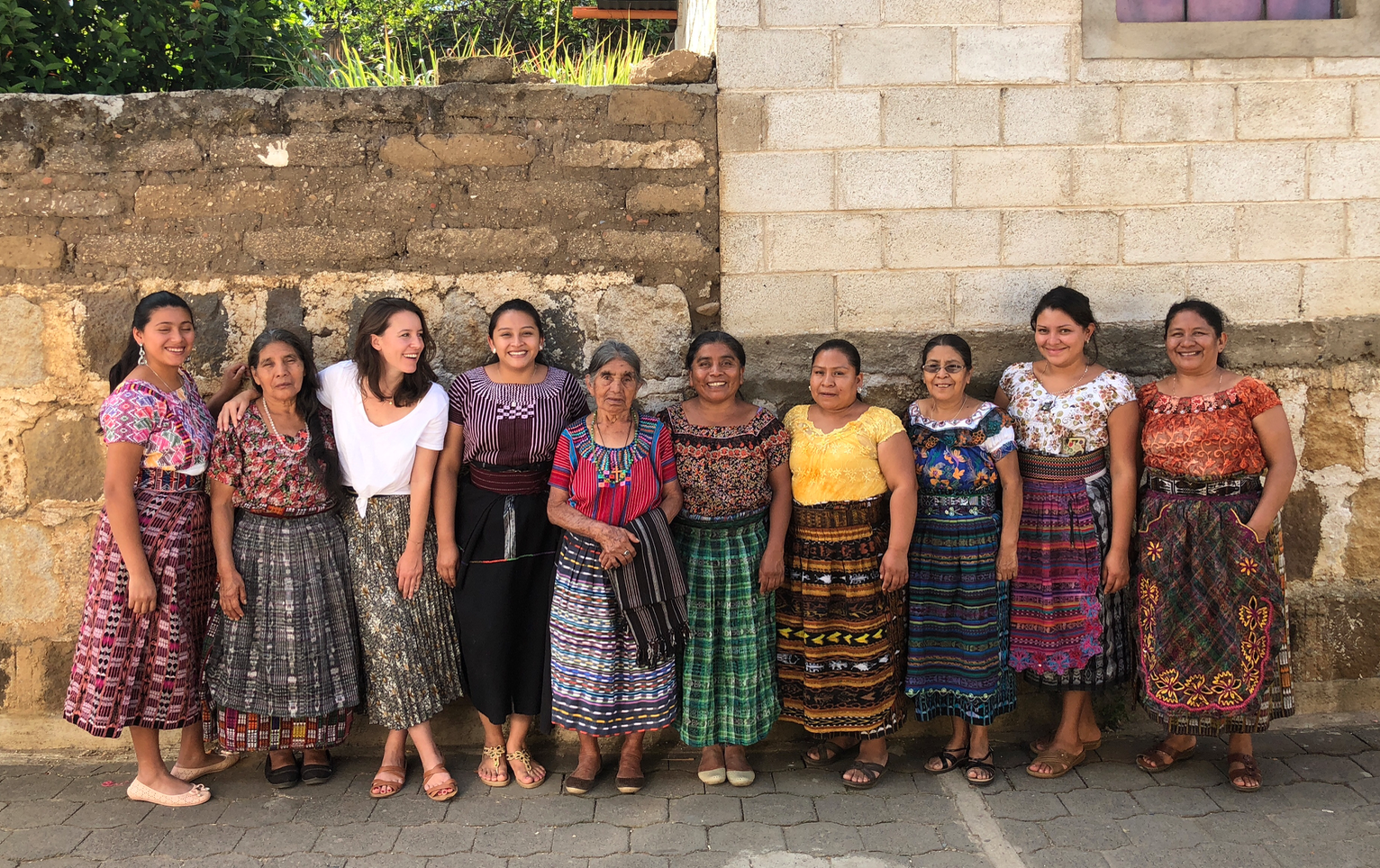 Maud et son équipe au Guatemala