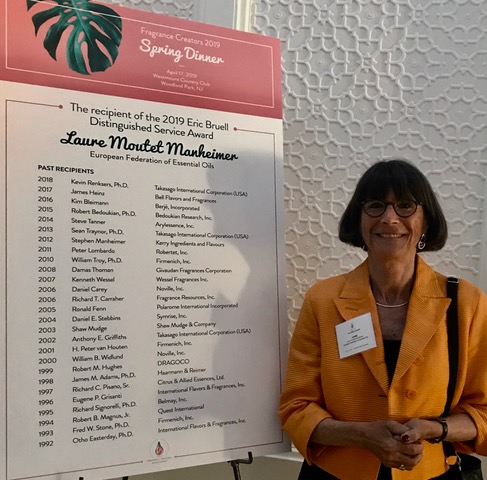 Laure Moutet Manheimer was the recipient of the 2019 Eric Bruell Distinguished Service Award