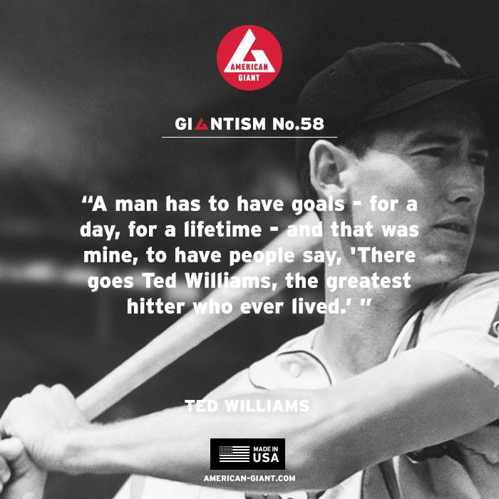 American Giant, AG, Giantism, Ted Williams