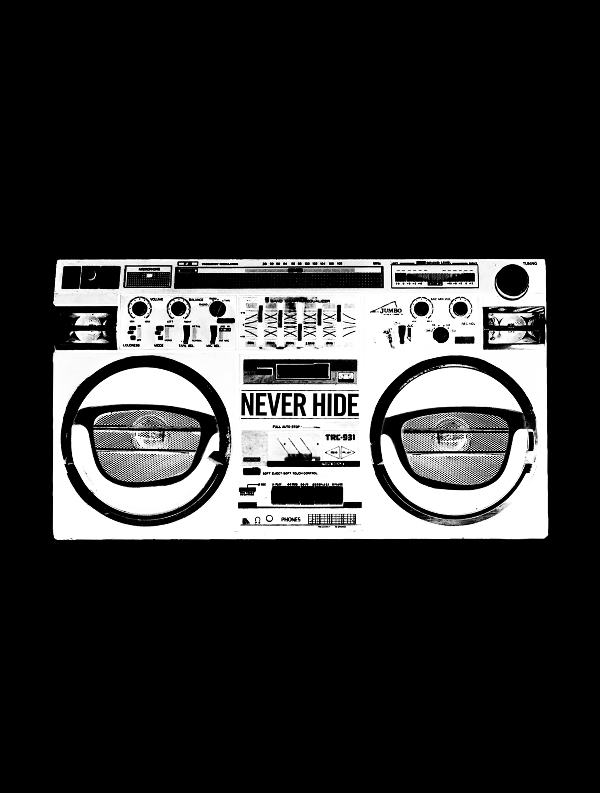 Ray-Ban, Never Hide, Boombox