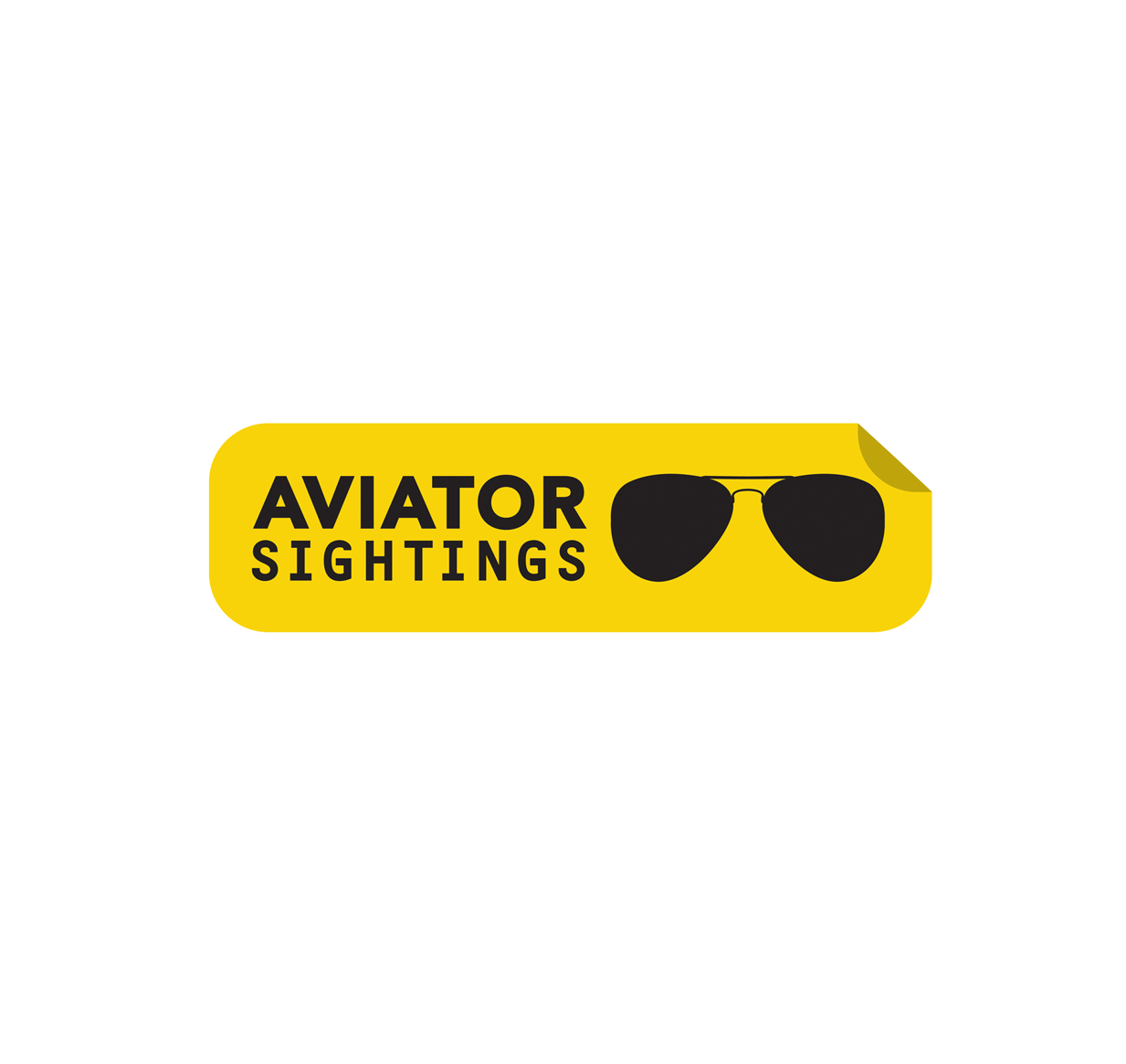 Ray-Ban, Never Hide, Aviator Sightings, Logo