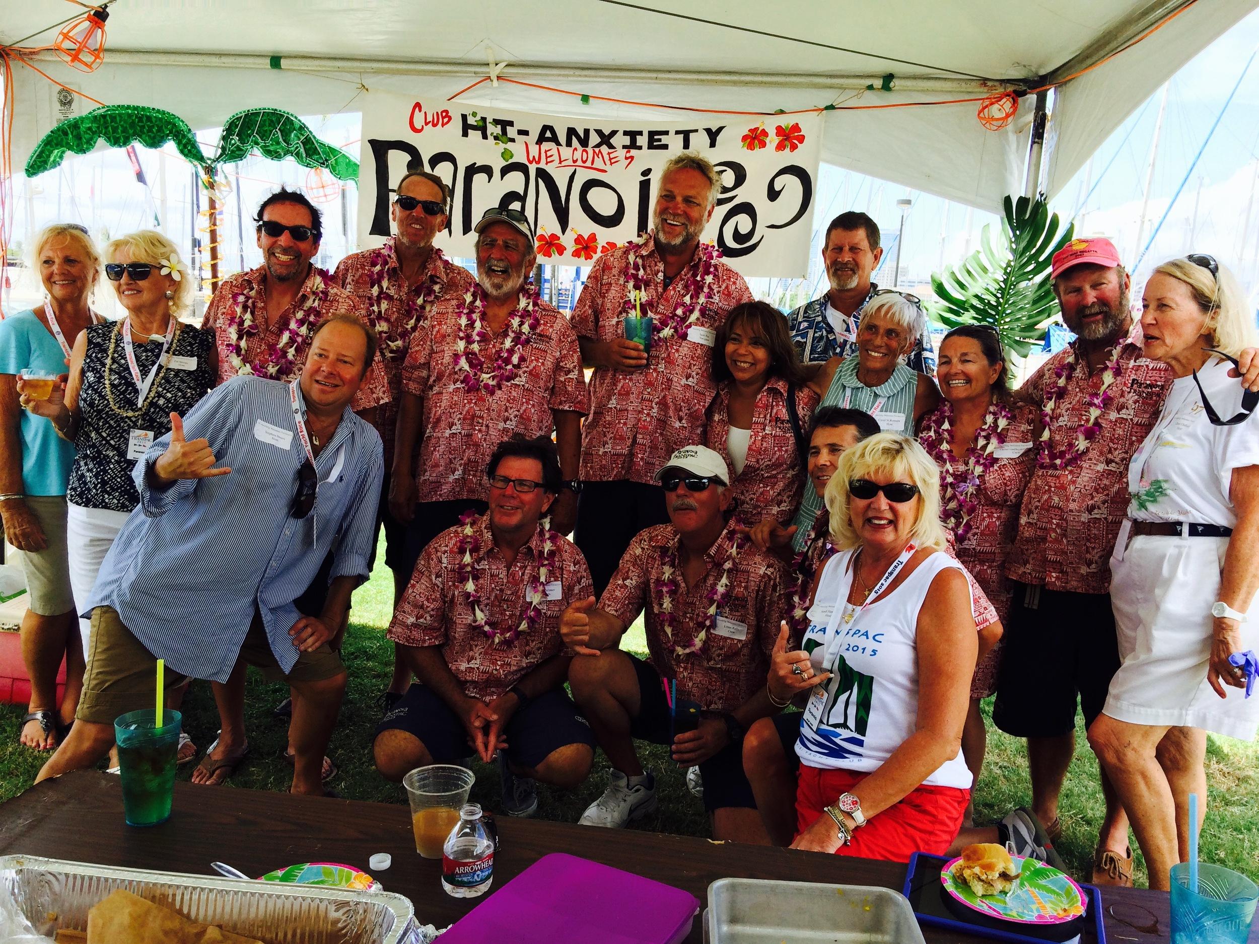 transpac race 2015 paranoia crew