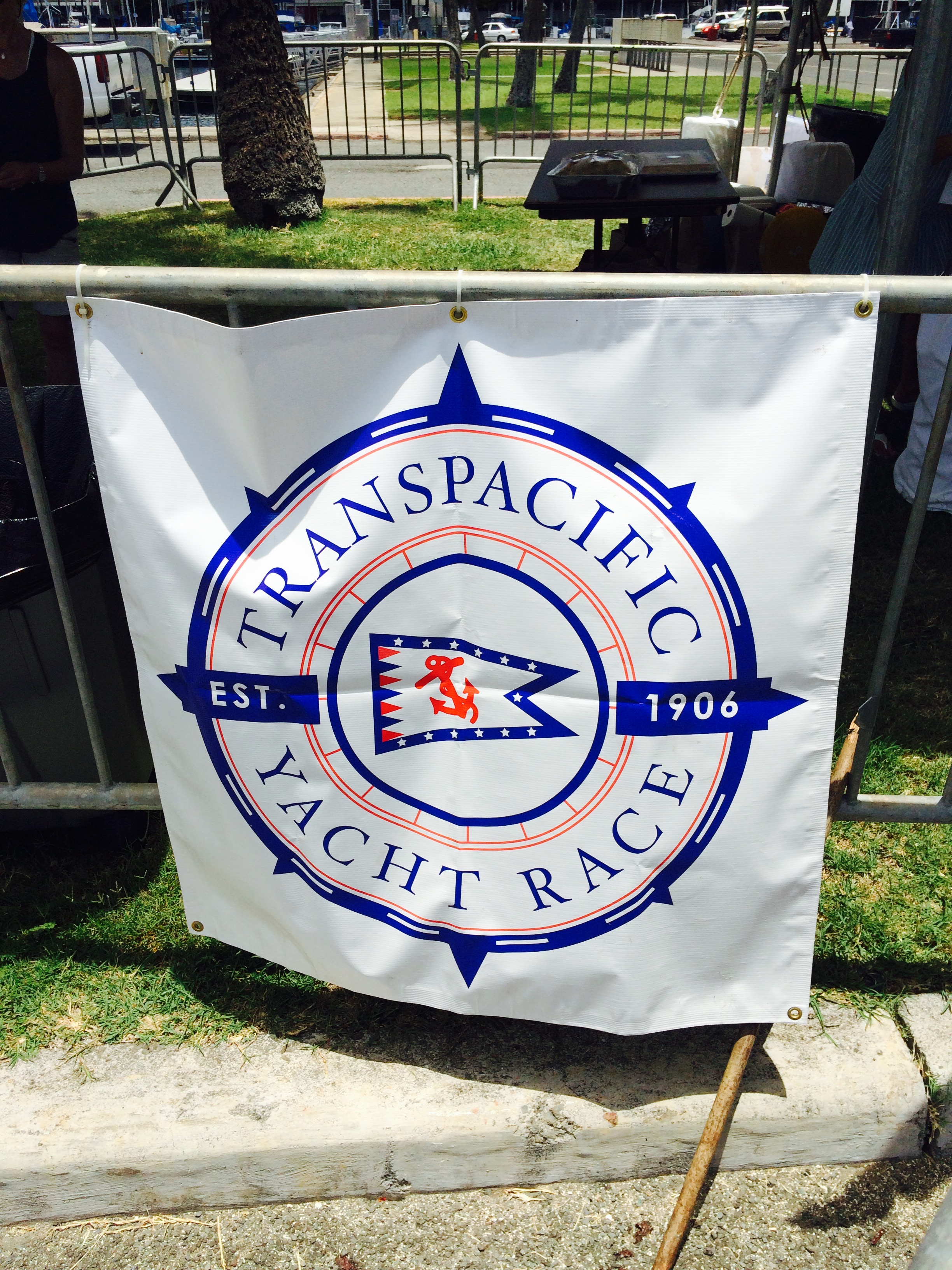 transpacific race 2015 sign