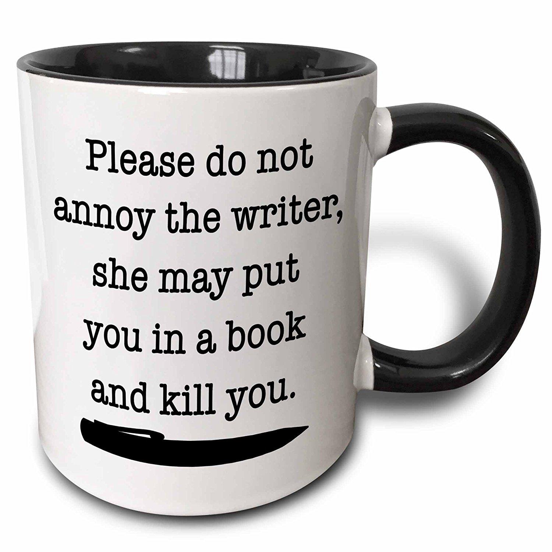 My sister gave me this mug for Christmas...so true.