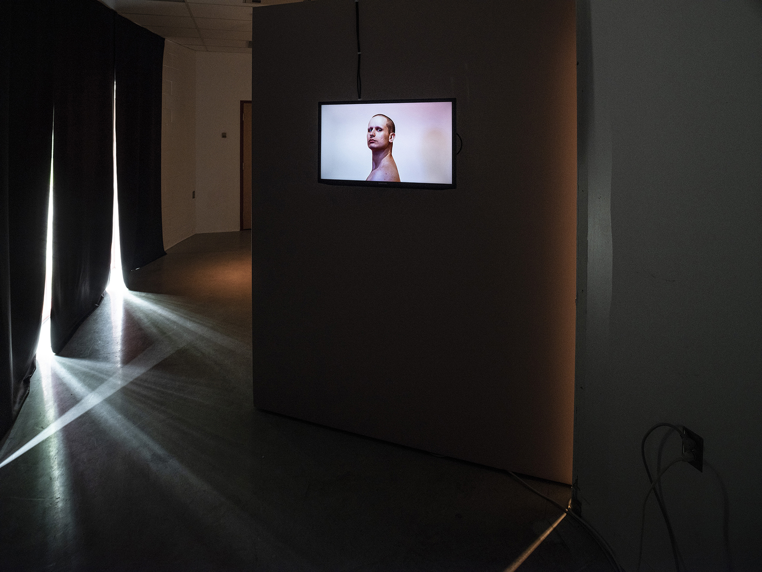 Graham , 2018 Video (still)   and where is the body?,  2018 ArtLab, Western University. London, ON Photo: Mark Kasumovic