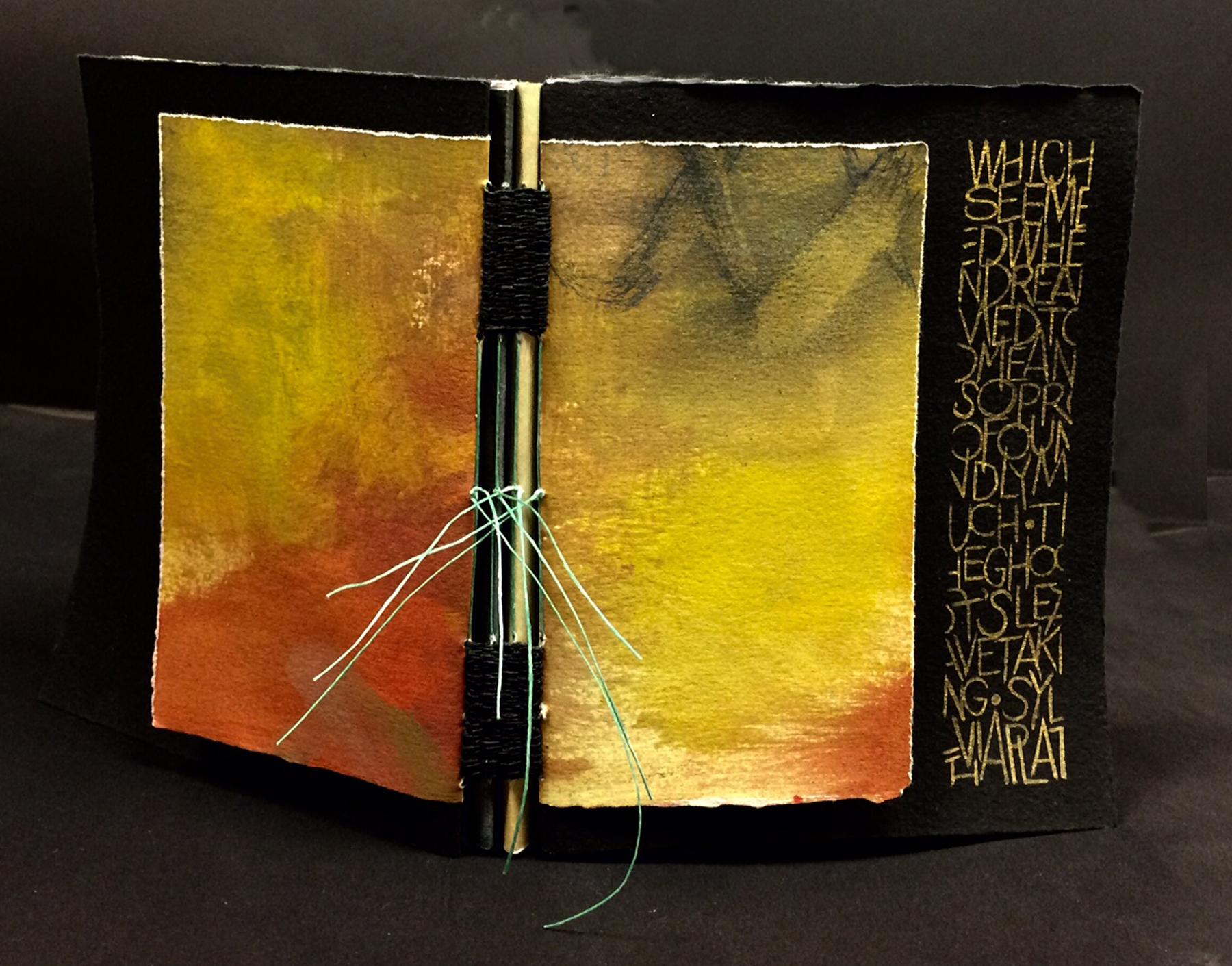 Woven binding by Elizabeth Tipton