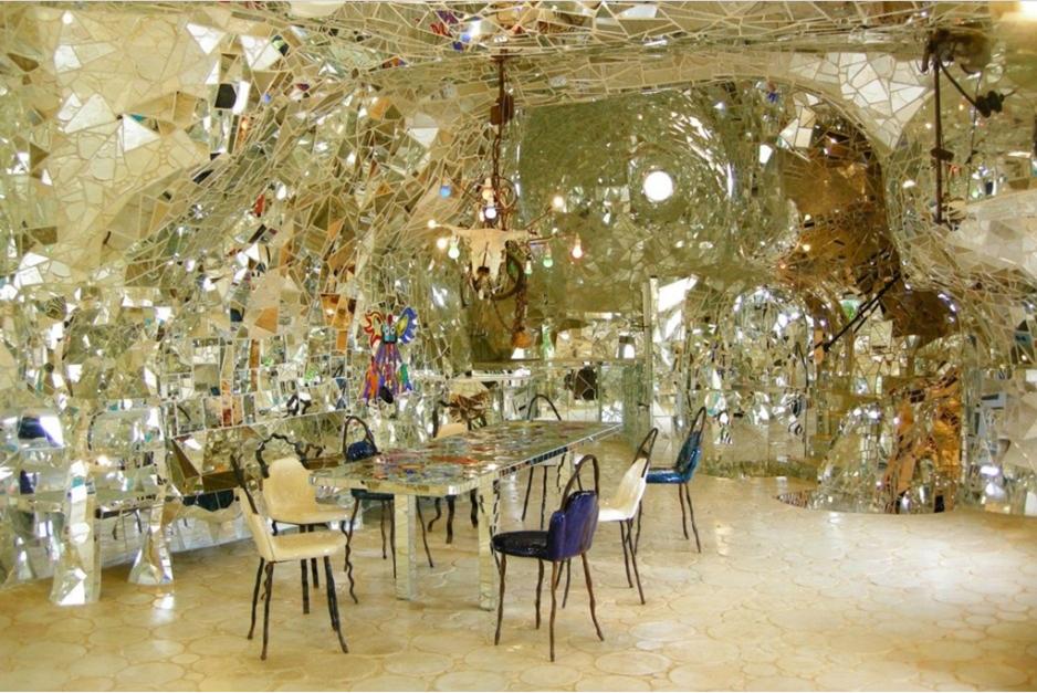 The Tarot Garden, Niki de Saint Phalle, an interior view of  The Empress