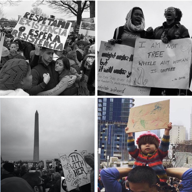 Images from the march: January 21, 2017
