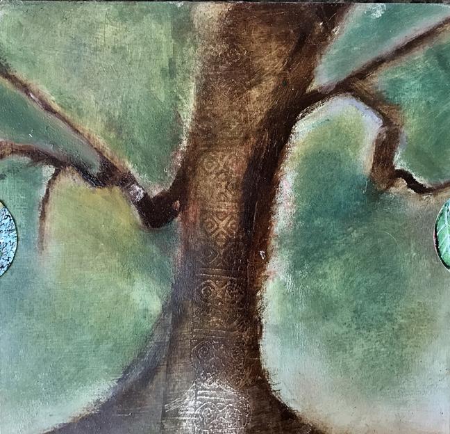 """""""Ancestor Tree"""" Back of letter sent to Deb, L Doctor"""
