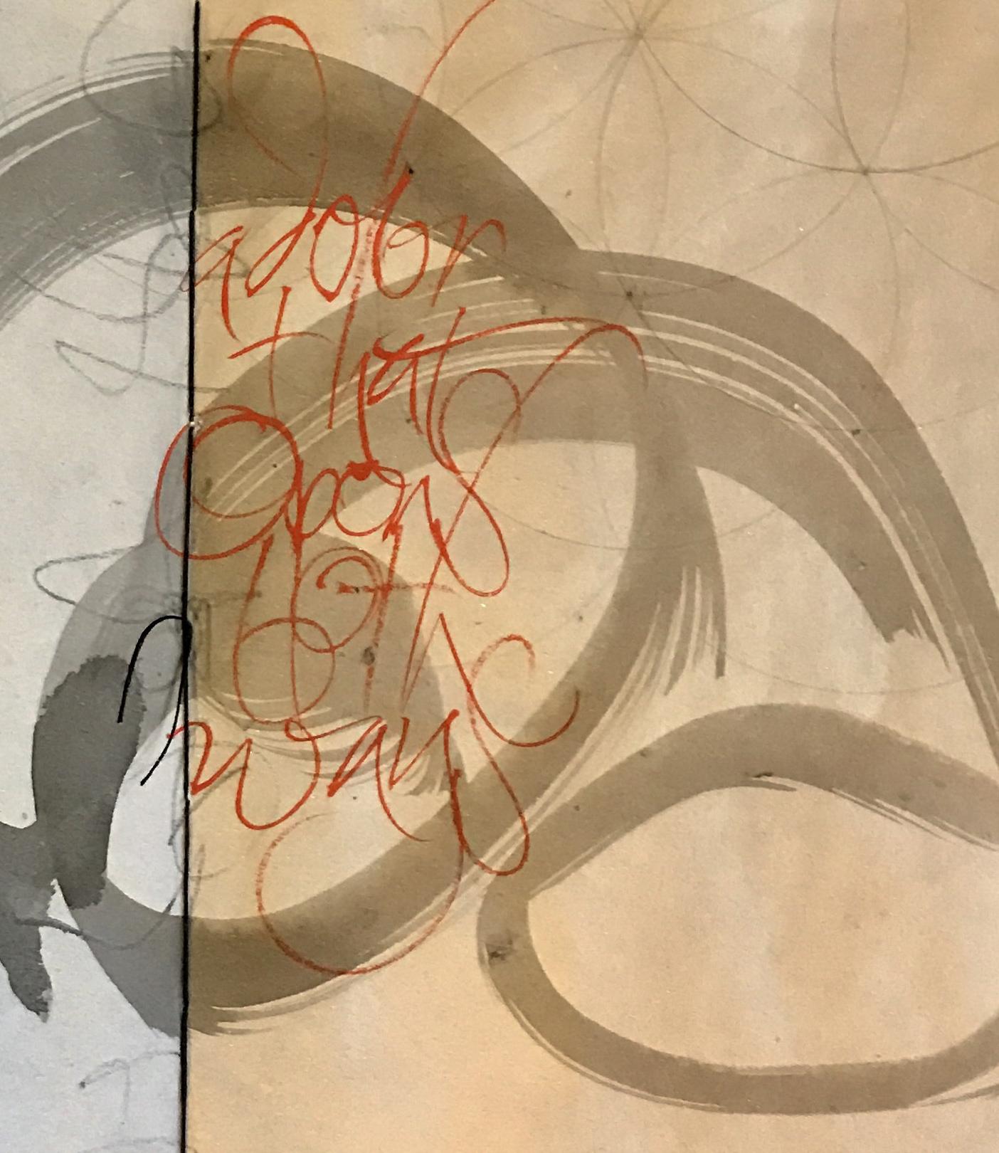 A door that opens both ways, L Doctor sketchbook