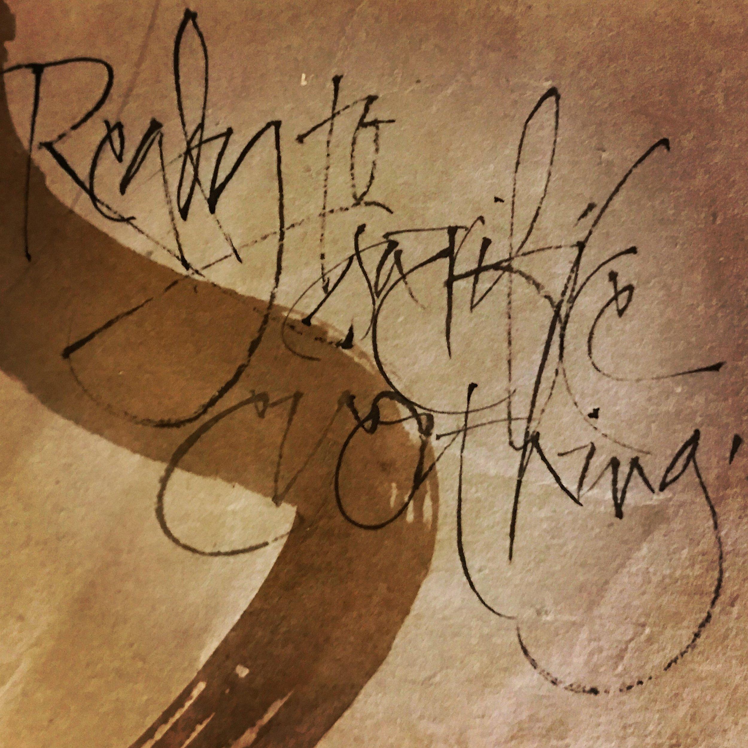 """Ready to sacrifice everything"" – Dostoyevsky, Brothers Karamazov  L Doctor Sketchbook"