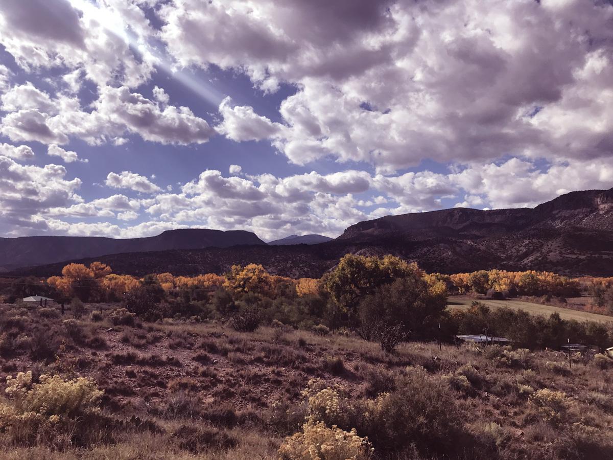 Ghost Ranch Landscape