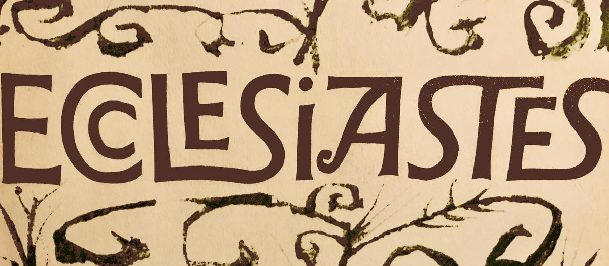 Ecclesiastes  by Ben Shahn