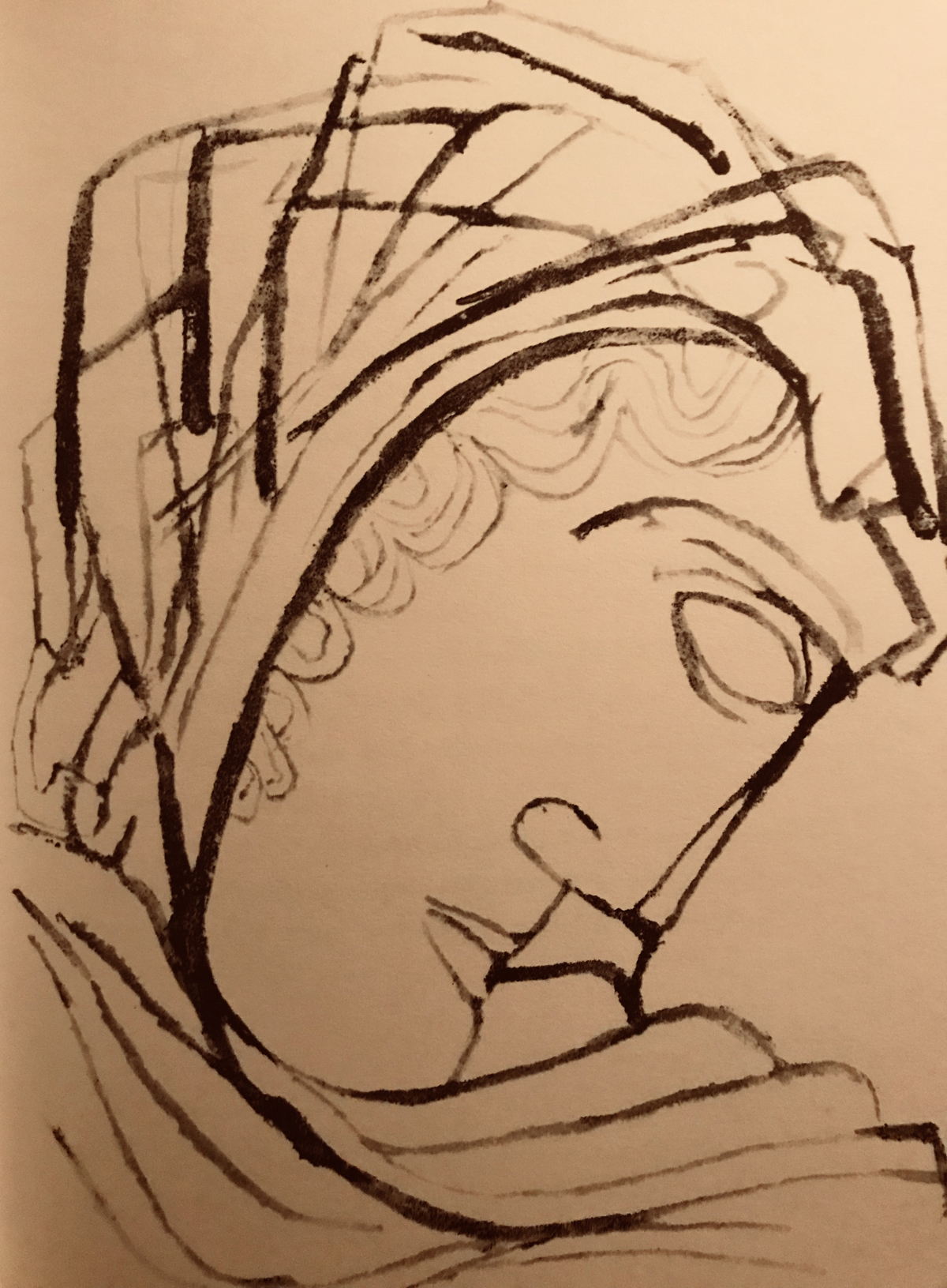 illustration from  Ecclesiastes  by Ben Shahn