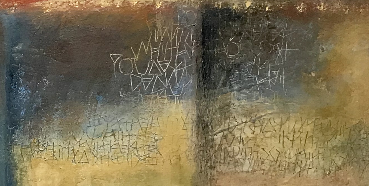 Detail from painting above –  Laurie Doctor