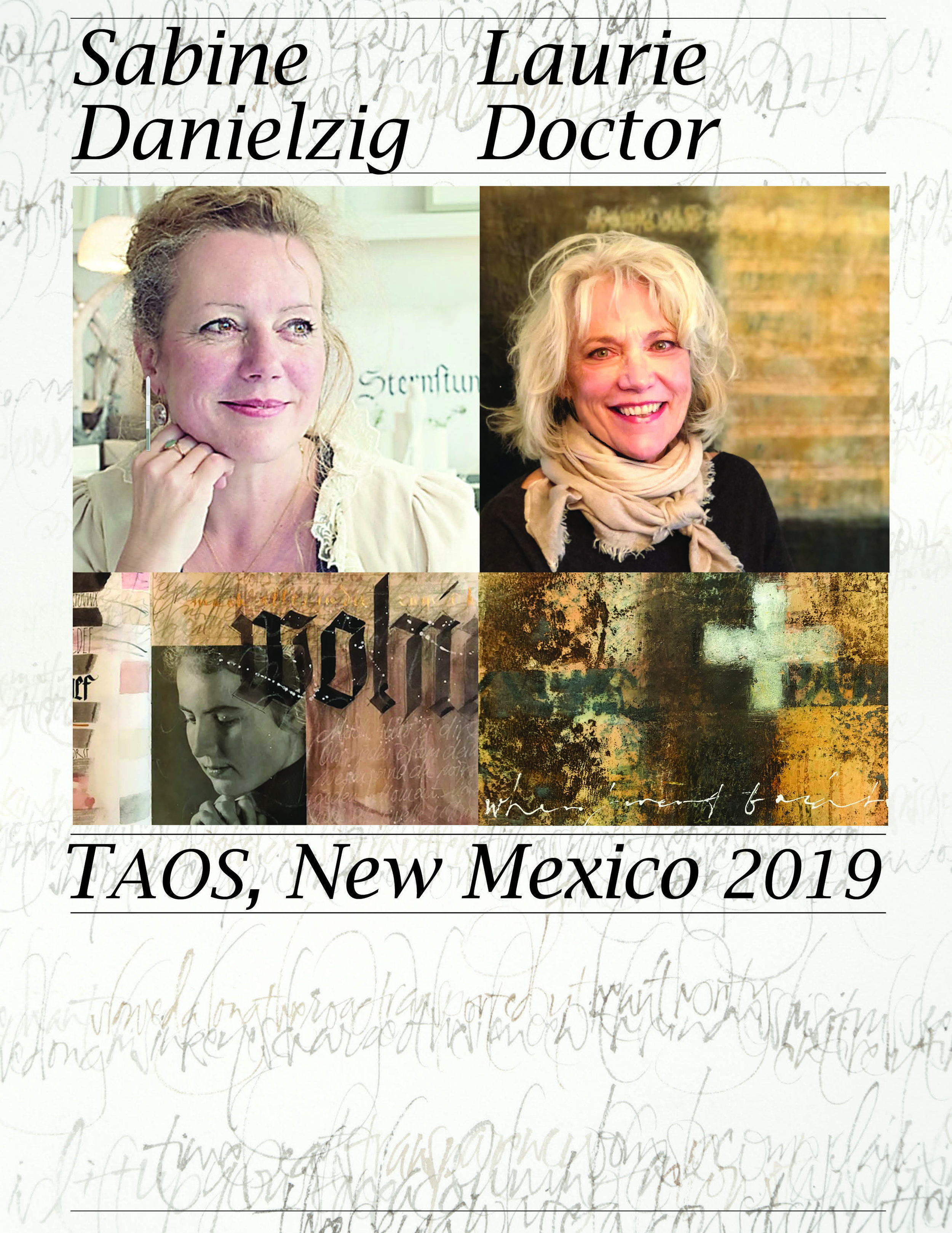 Live the Question:  A Workshop with Sabine Danielzig & Laurie Doctor at Mabel Dodge Luhan Retreat March 2019