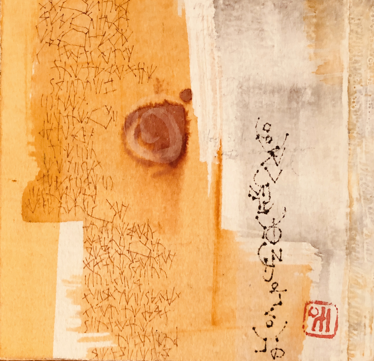 New small paintings;  Dream Series: Intuitive Messages  L Doctor