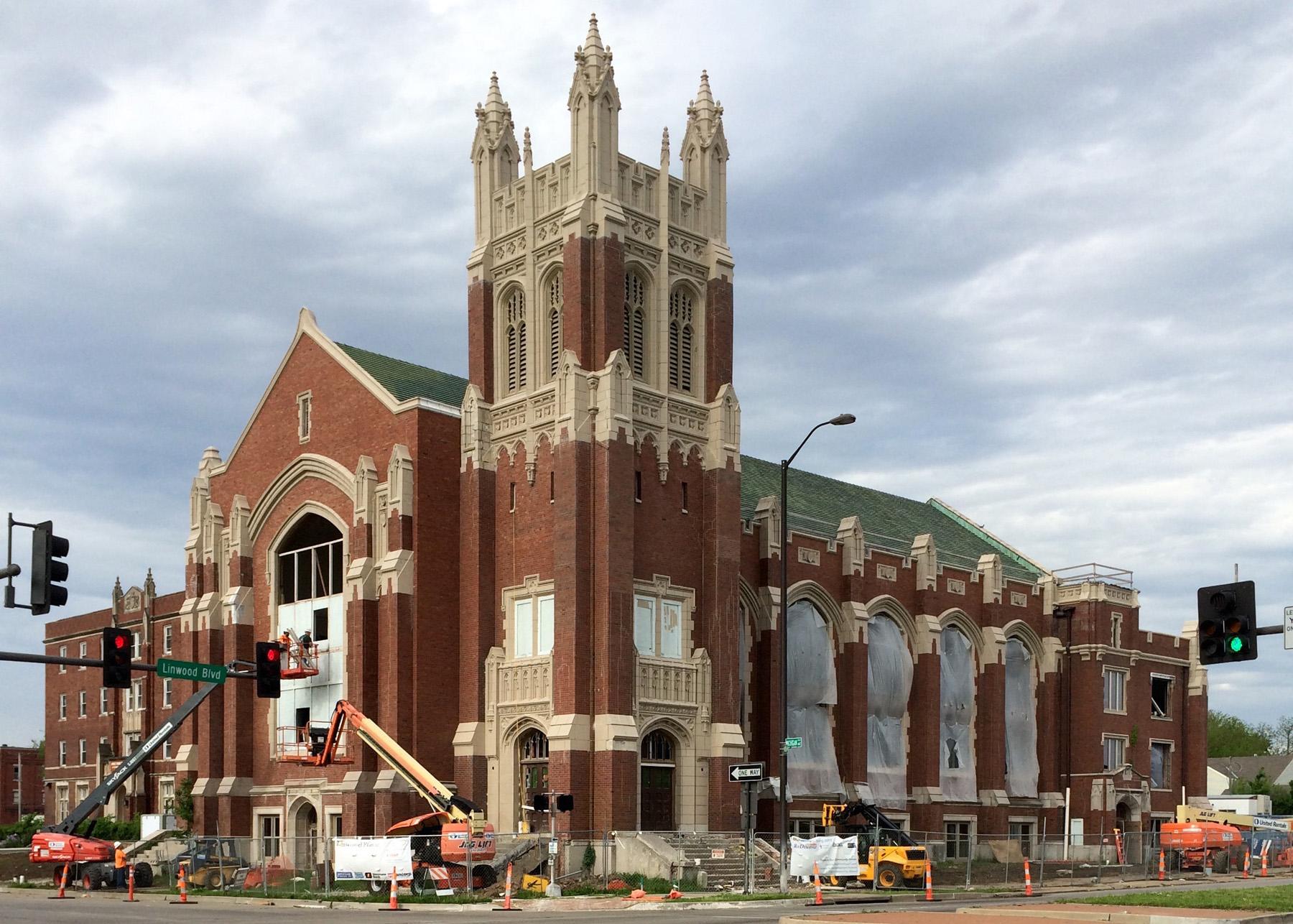 Vacant church converted into a non-profit center, Kansas City, MO - NMTC & HTC