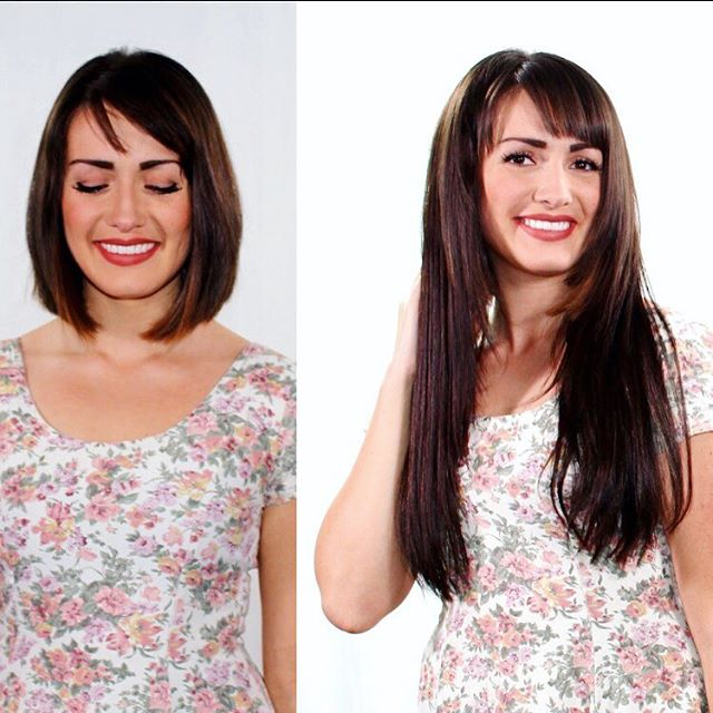 Check out today's Before and after. Enjoy free shipping in all rely hair extensions. #hairextensions #hair #hairstylist #haircut #hairstyle #beauty #salon