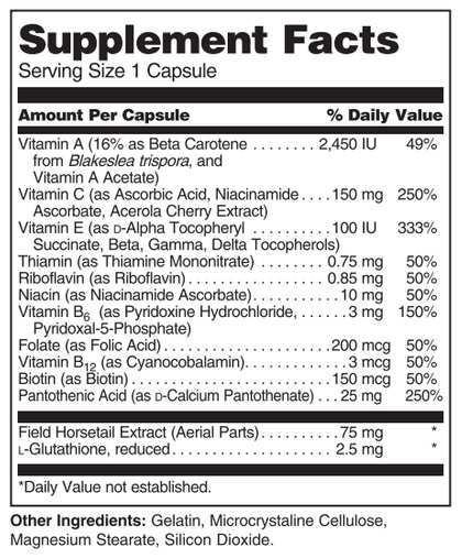 Image HNS Supplement Facts