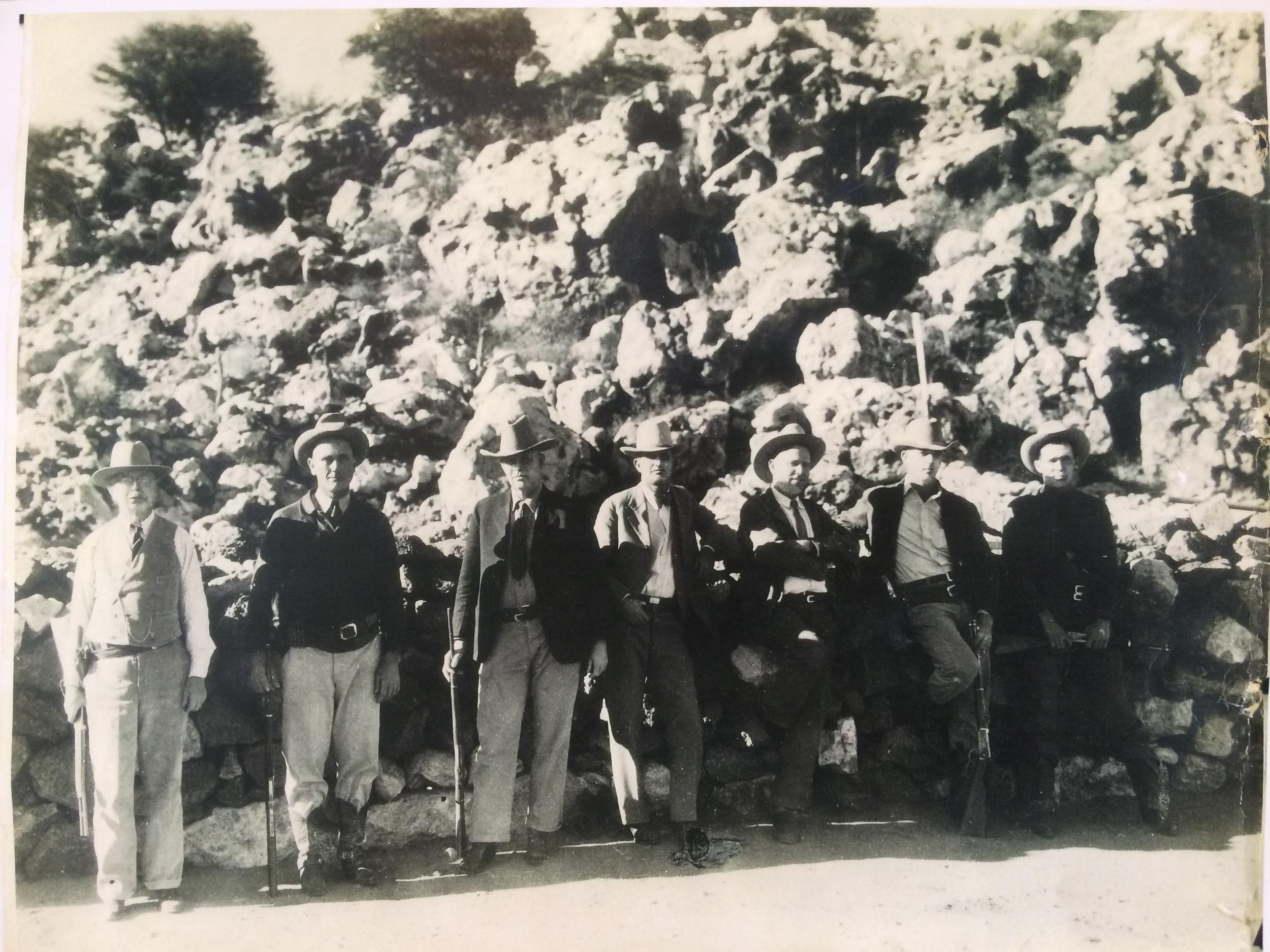 photo of texas rangers 1920