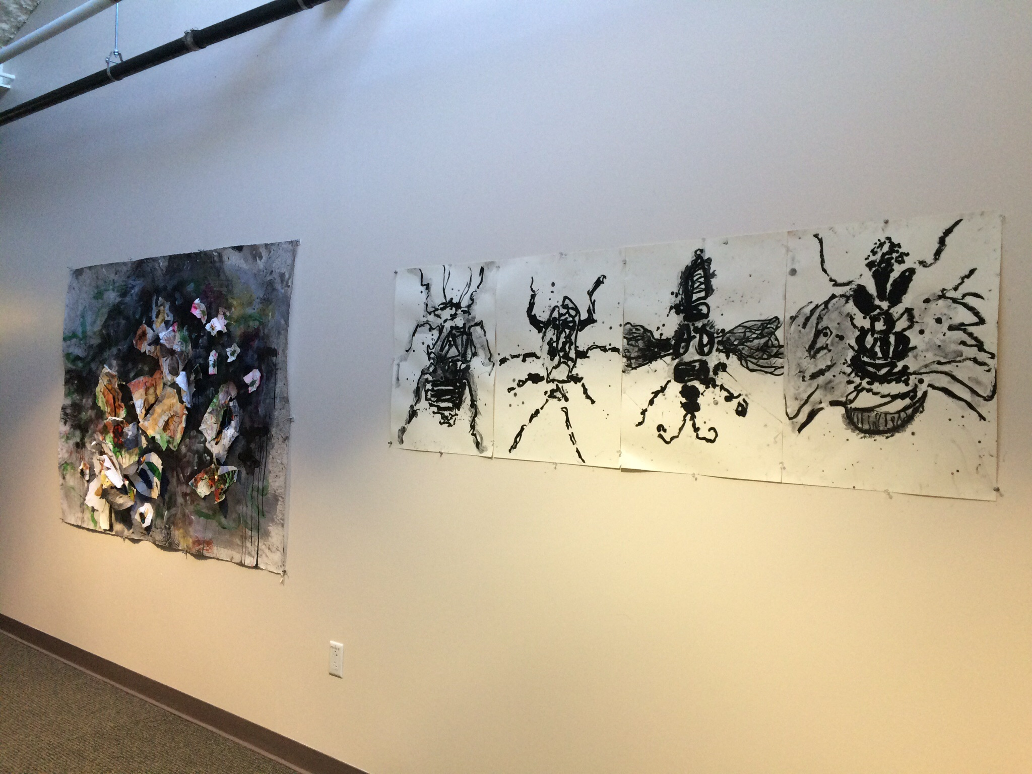 Temporarily on exhibit at the Glassell studio school.