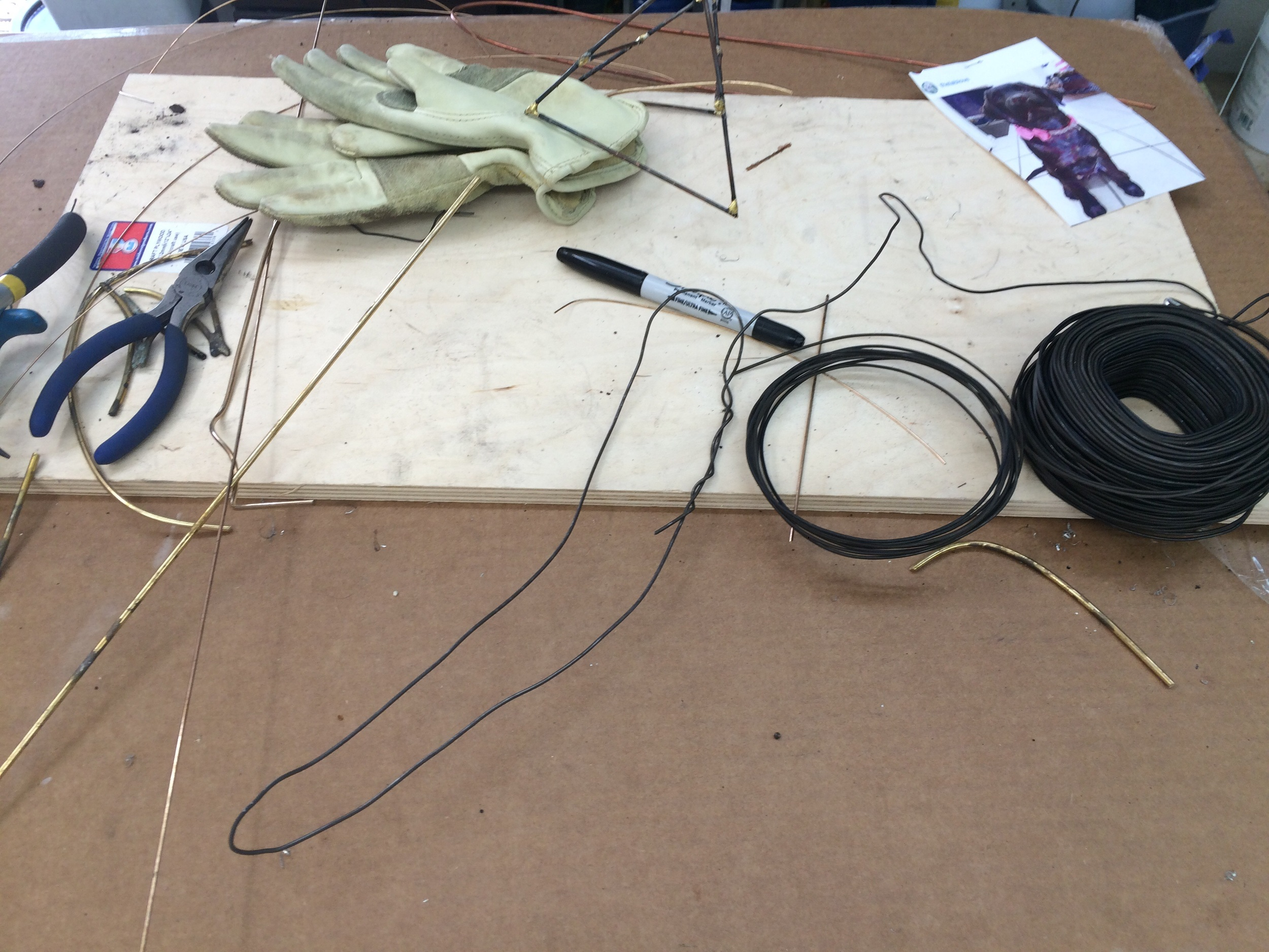 Wire ready to go