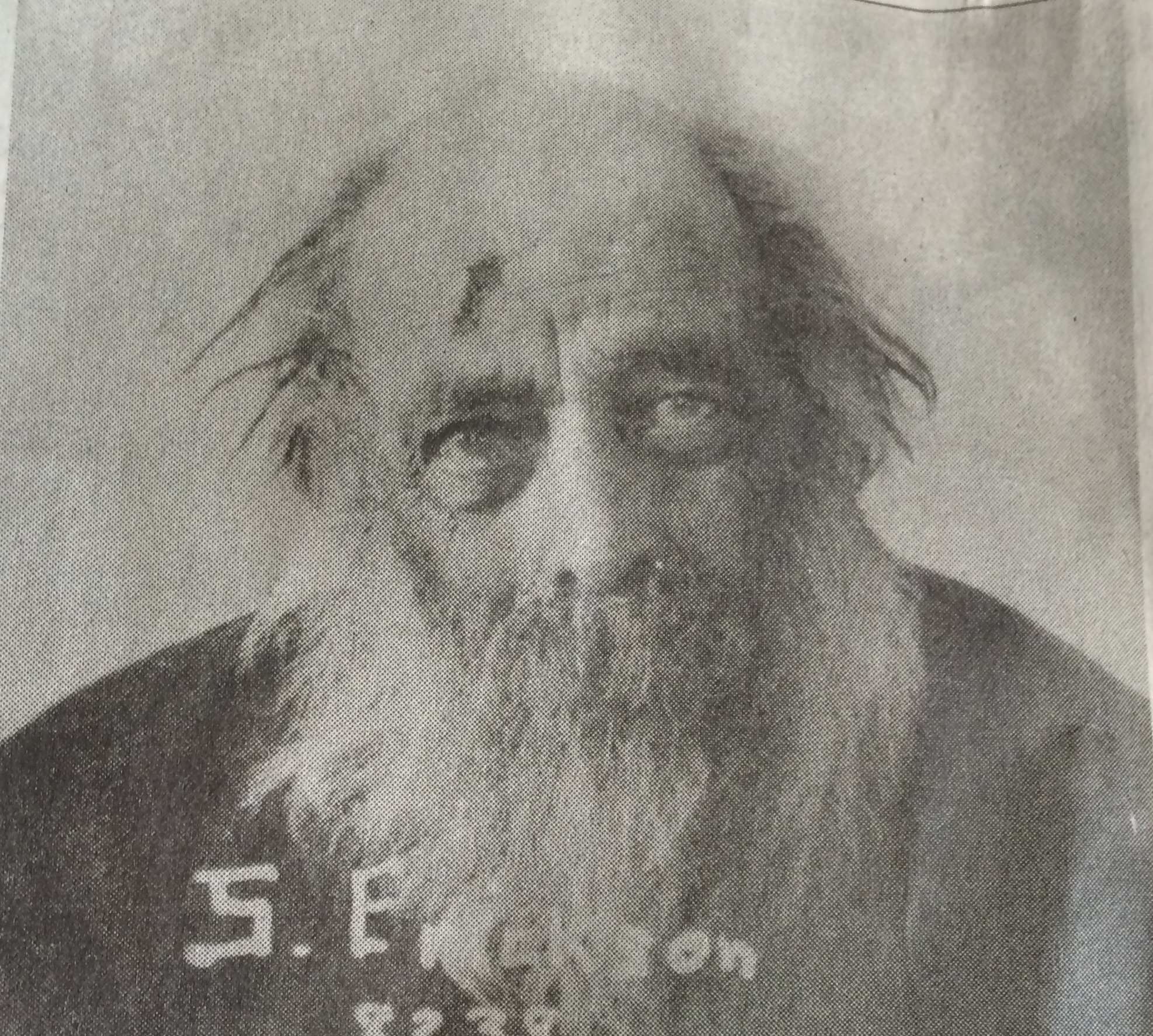 Picture from the newspaper