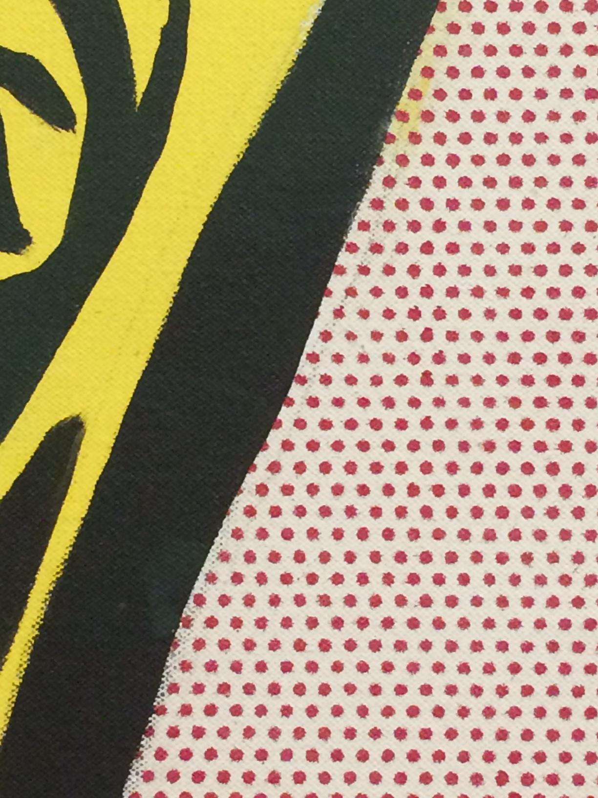 Roy Lichtenstein, Live Ammo (Tzing), (Detail)