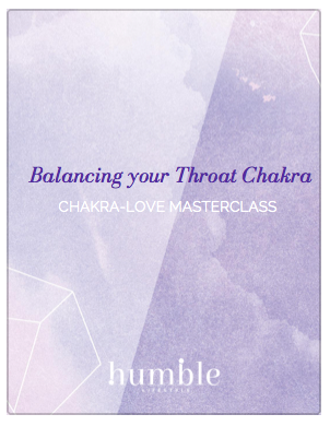 Balancing your throat chakra