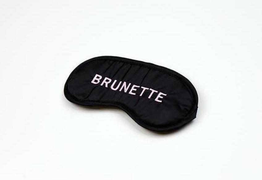 Brunette Sleep Mask
