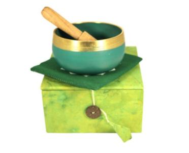 Green Chakra Singing Bowl