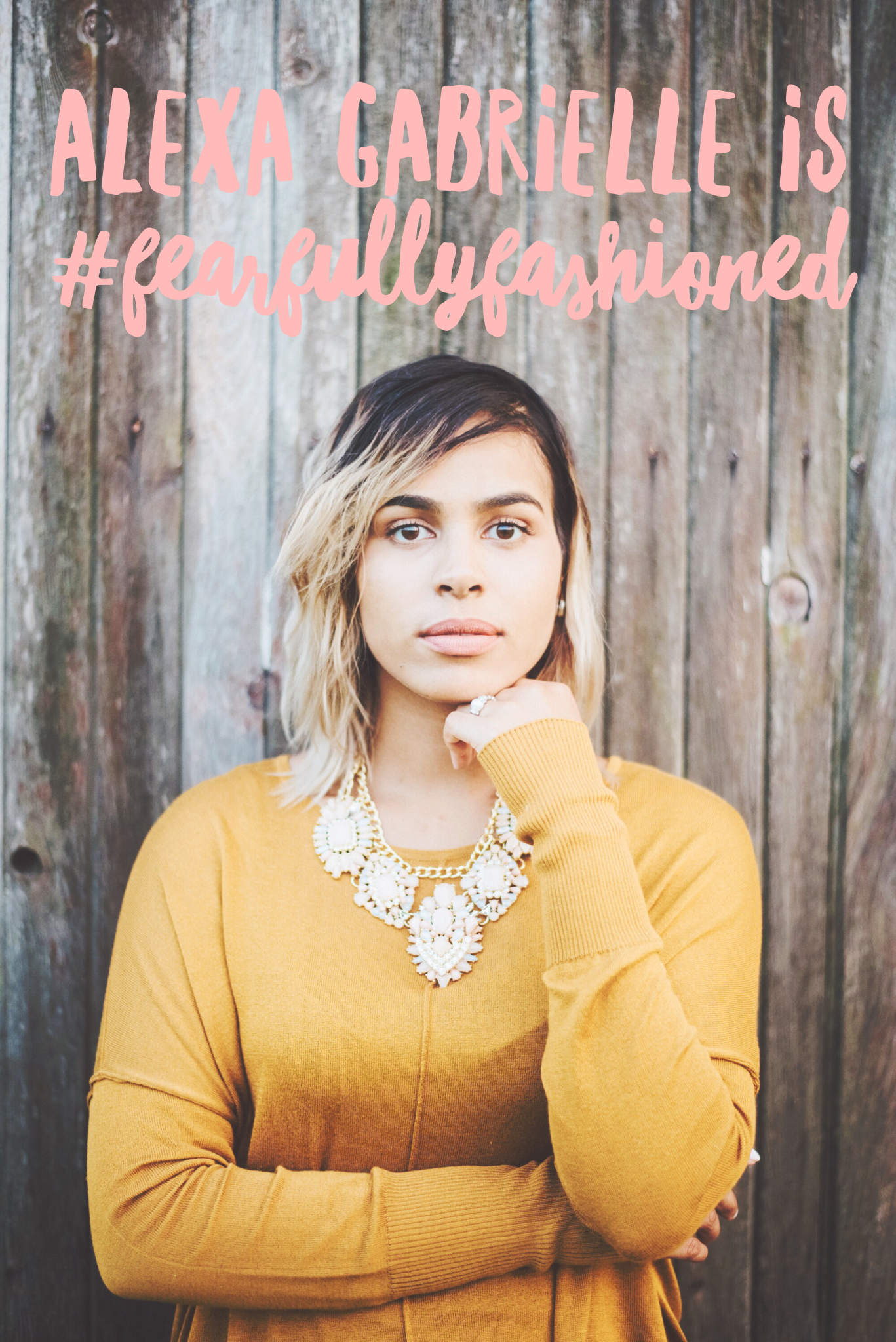 """Alexa Gabrielle is #FearfullyFashioned 