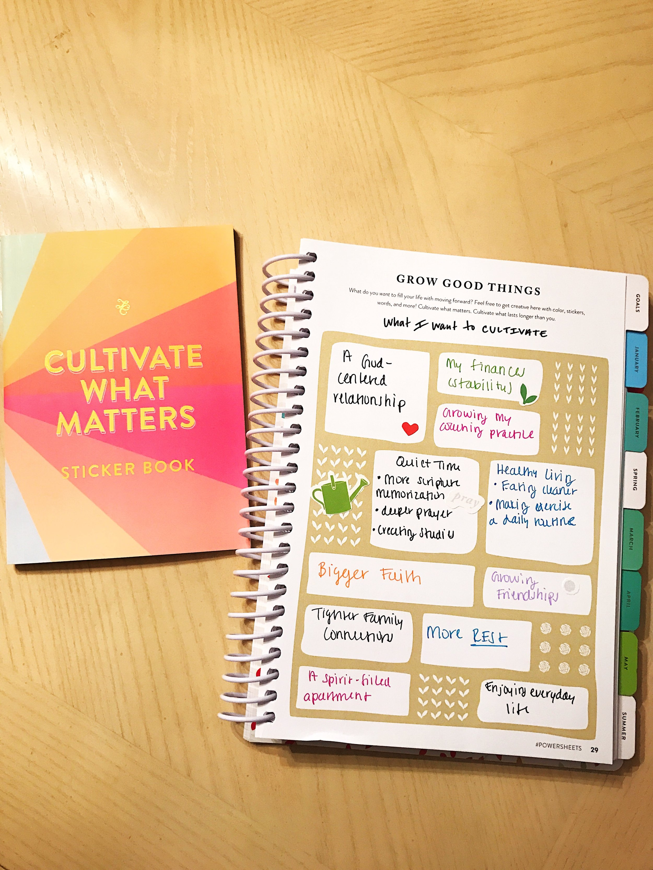 Cultivating What Matters | Fearfully Fashioned -- Do you find yourself constantly striving to do and be more? Strive Less. Be Present, and focus on cultivating what matters. Click here to read more or pin to save for later. #bepresent #wellness #FearfullyFashioned