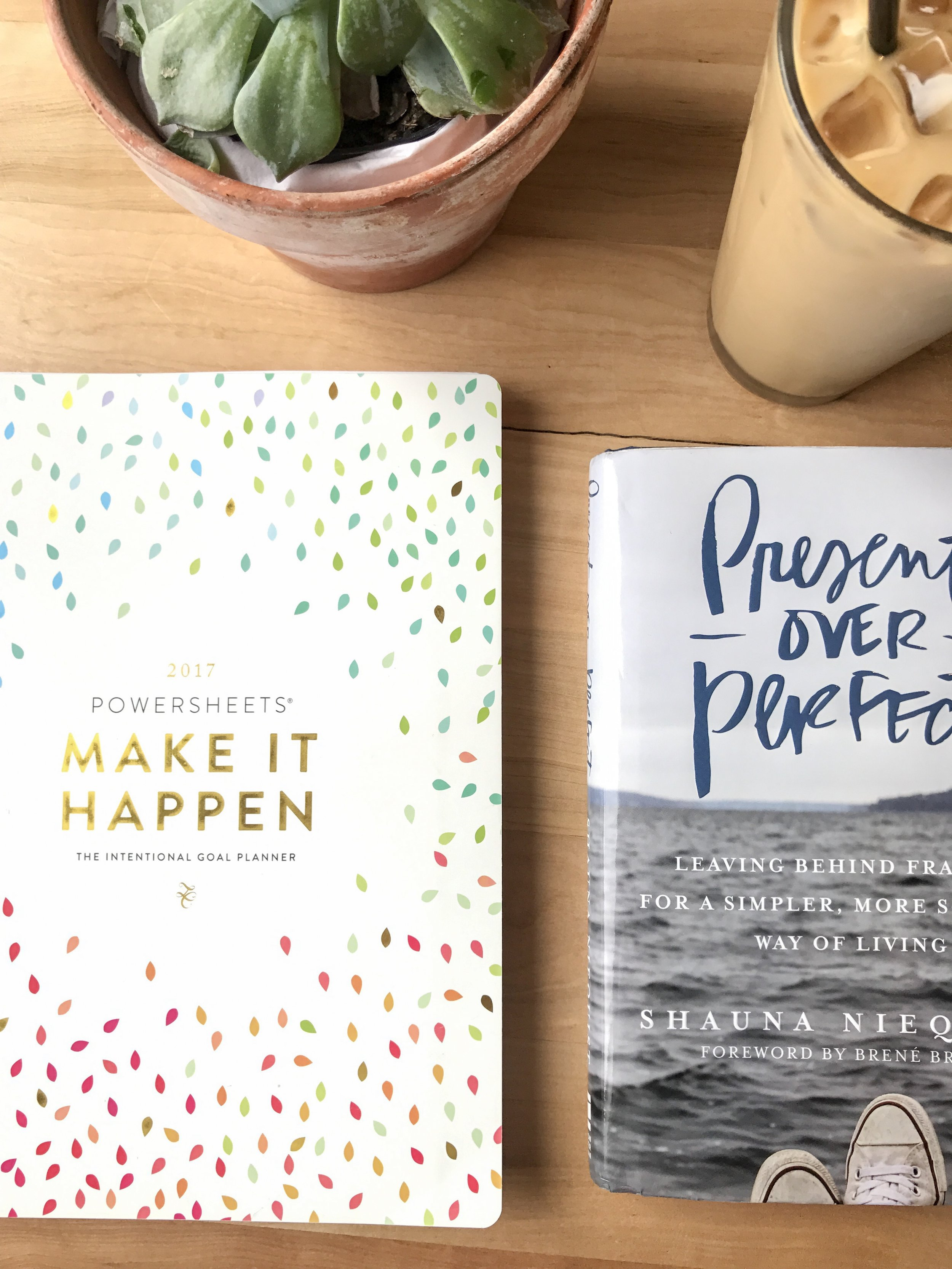 Present Over Perfect Book Review   Fearfully Fashioned -- Present Over Perfect has helped me go from striving to a more present and peaceful way of living. Do you struggle with striving or busyness too? Click here to read my review of Present Over Perfect by Shauna Niequist, or pin to save for later! #presentoverperfect #FearfullyFashioned