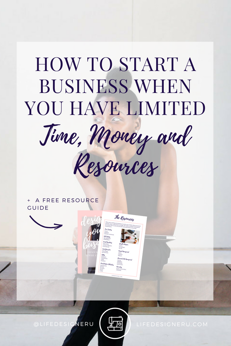 Are you a newbie women entrepreneur? You don't need much to get your business started. Here's who you can start your business with limited time, money, and resources. Click to read now or pin to save for later.  #womenentrepreneurs #businesstips
