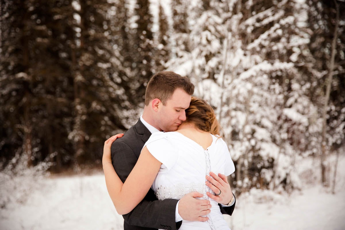 Calgary Alberta Winter Wedding Guenard Photography