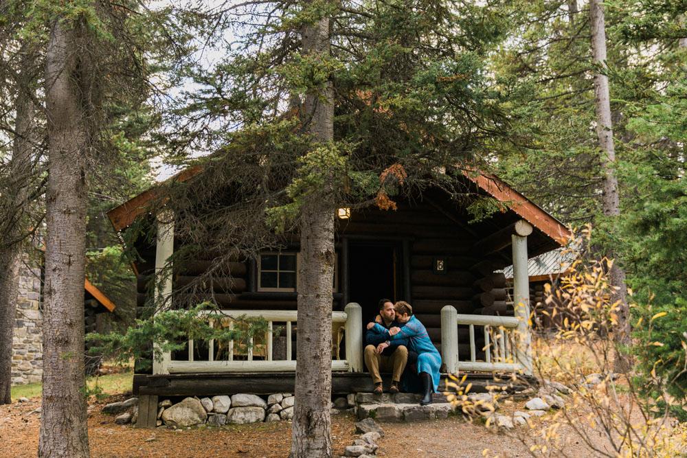 Storm Mountain Lodge Anniversary Vacation Shoot