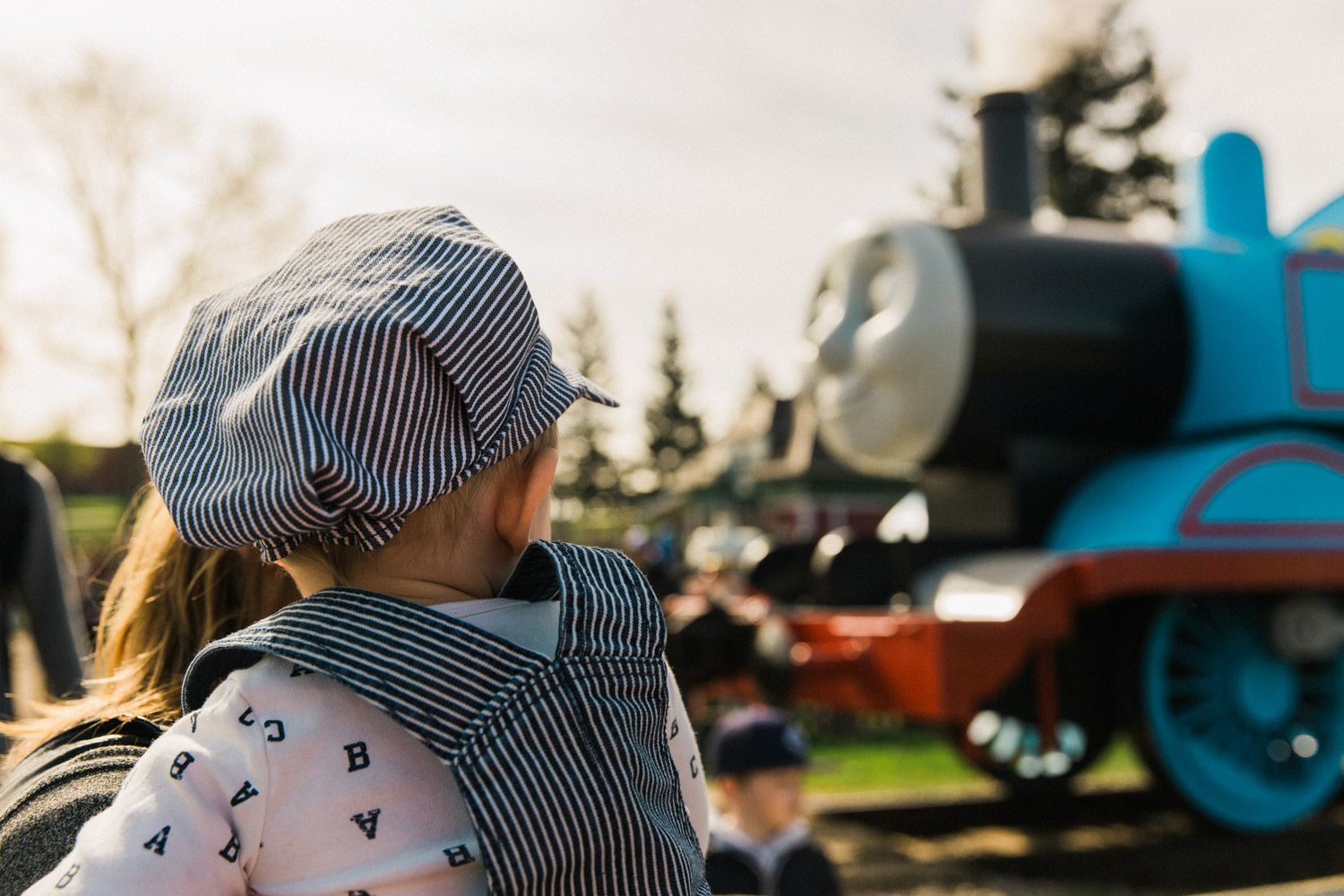 Day out with thomas, heritage park, calgary, Guenard photography, family activity